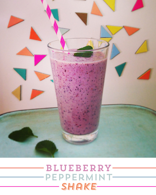 blueberry-milkshake, peppermint, instagram