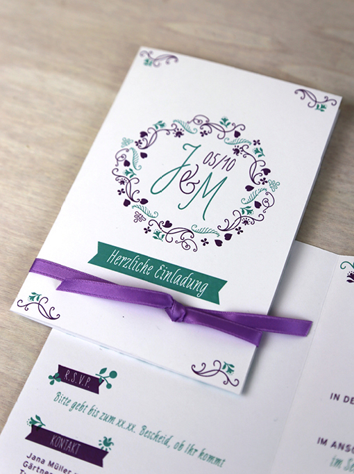 Hochzeitspapeterie, Hochzeitseinladung, Hochzeits-Design, Grafik-Design für Feste, Hochzeit