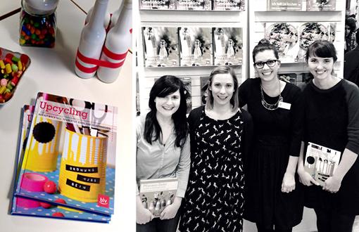DIY-Buch, Julia Romeiss, BLV-Verlag, Upcycling Buch, aus alt mach neu, Buchmesse Frankfurt 2014