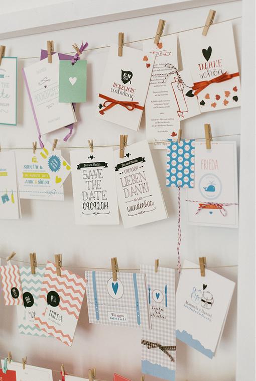 Einladungen, Save-the-Date, Antwortkarte, Hochzeit