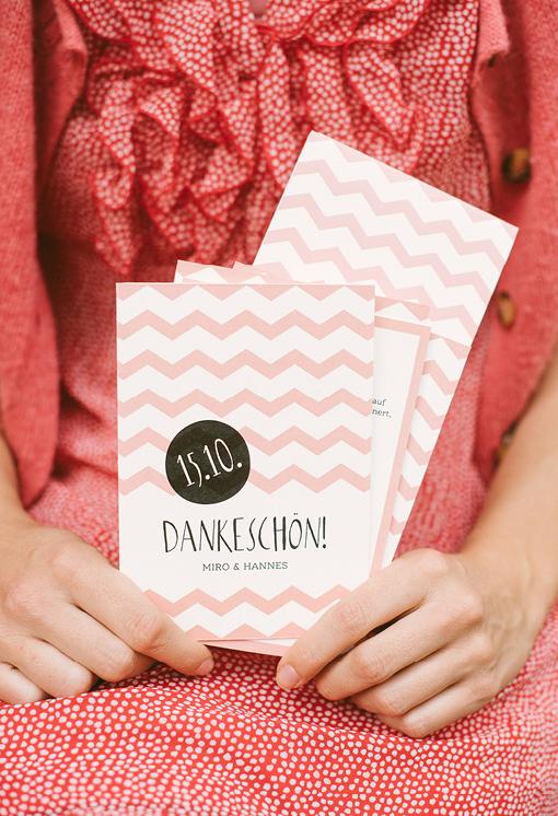 Danksagungskarte Hochzeit von Herzlichst, Herzlichst-Schönes auf Papier