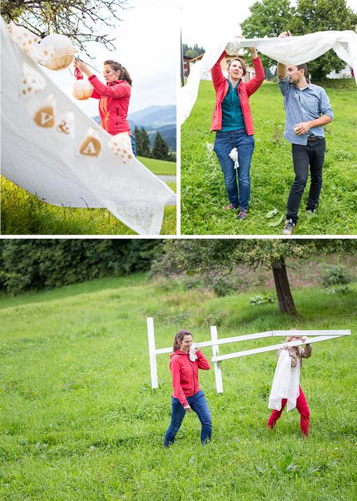 Hochzeit mit Liebe selbstgemacht, Hochzeitsbuch, DIY Wedding