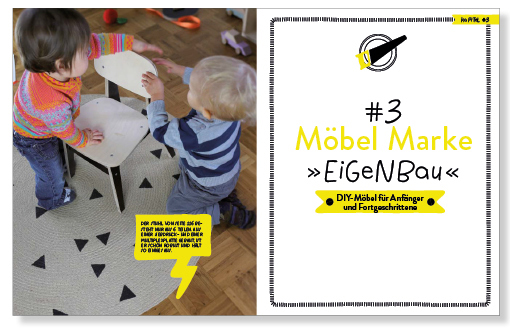 DIY Kinderzimmer, Selbstbaumöbel, Kinderstuhl, Kindermöbel selberbauen