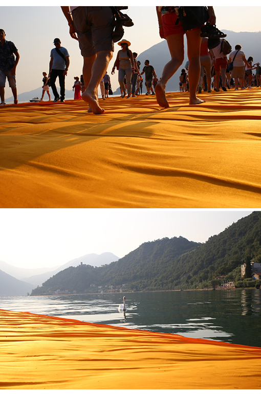 Floating Piers, Christo, Lake d'Iseo