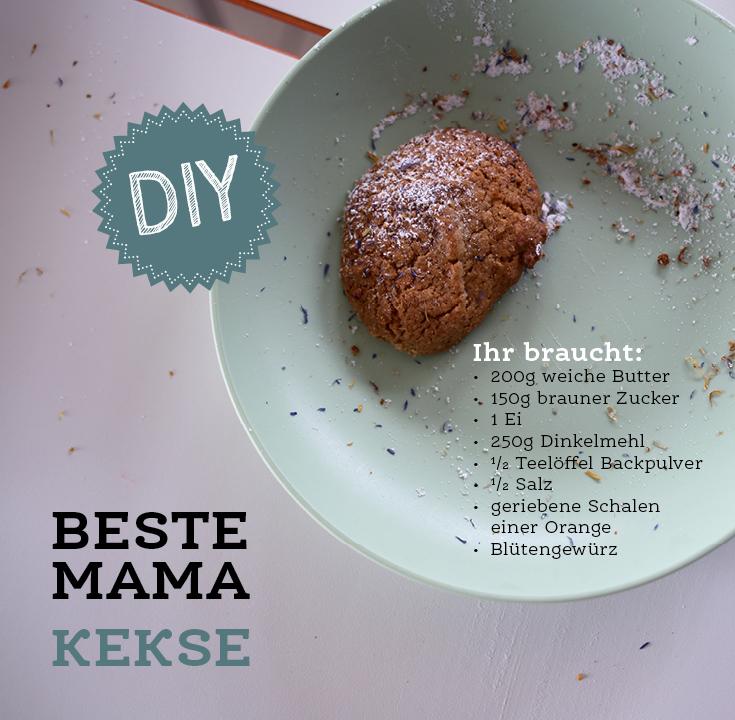 Mama Kekse, Orangenkekse, Geschenkverpackung DIY