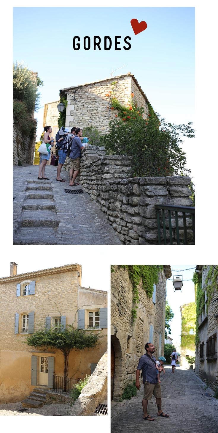 Gordes, Provence-Tipp. Reisen mit Kind