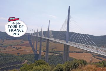 Viaduct de Millau, Frankreichreise