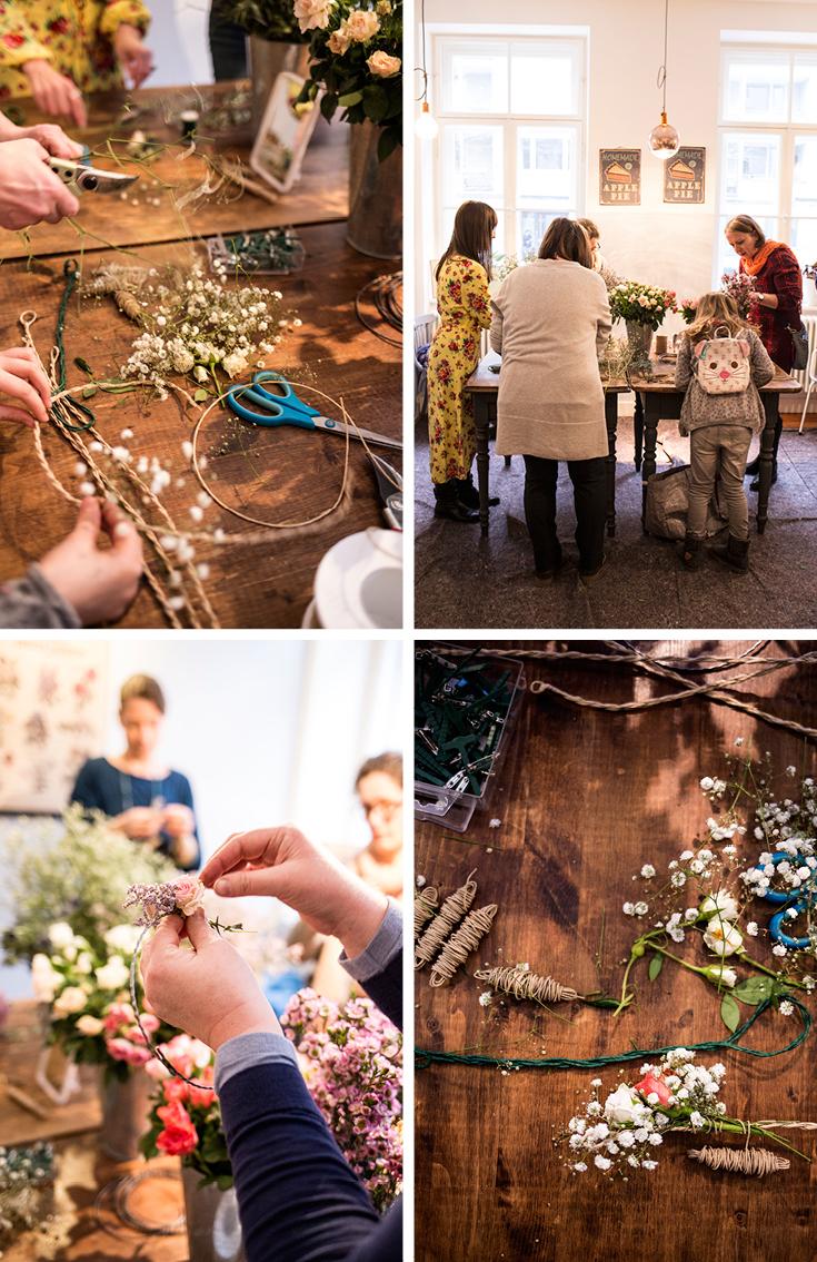 greenfingers munich, Blumenbinden, München, Blumenworkshop, Schwabing