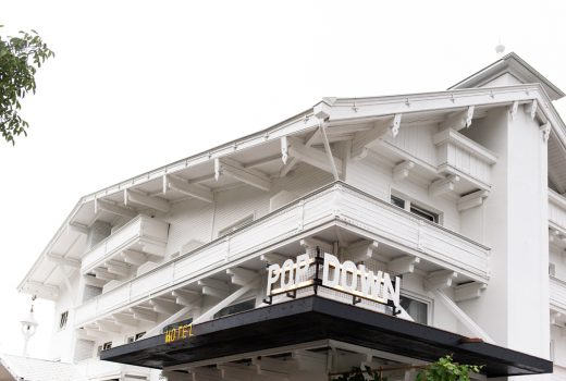 Das Popdown Hotel in Ried im Zillertal. Ein Hotelkonzept zur Zwischennutzug